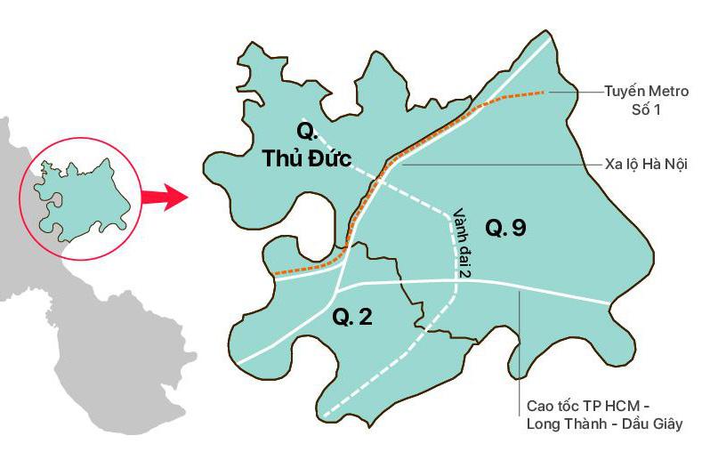 Doanh nghiệp nào đang nắm giữ quĩ đất lớn nhất khu Đông?
