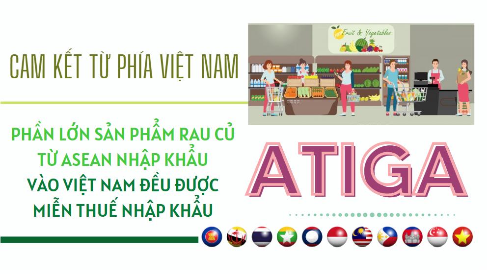ATIGA: Cam kết về thuế quan với mặt hàng rau quả - Ảnh 1.