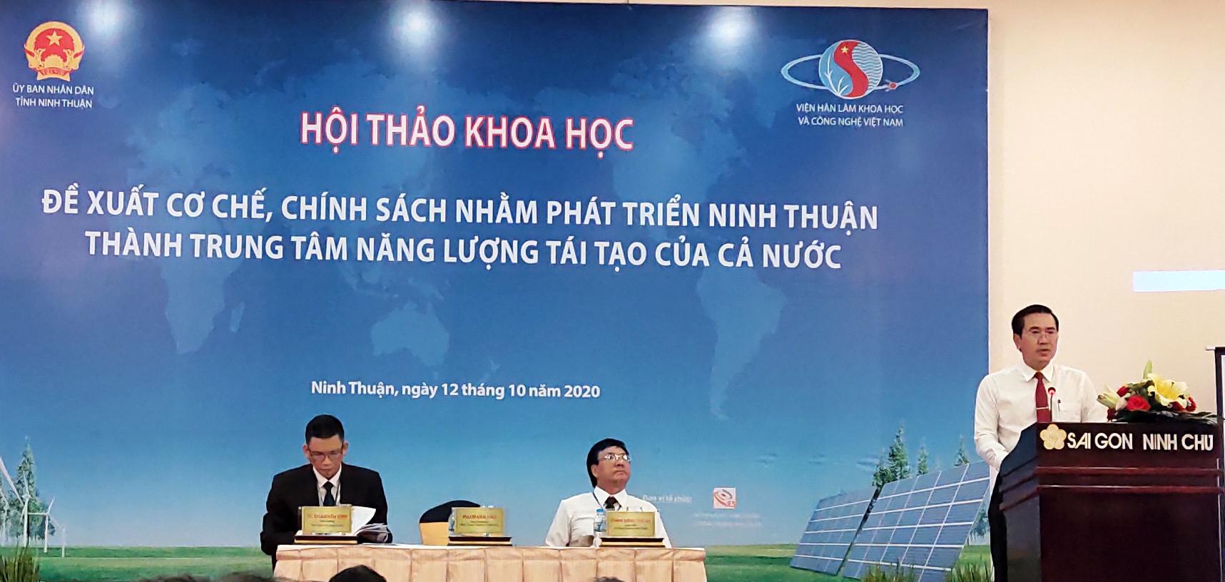 Ninh Thuận sẽ trở thành trung tâm năng lượng tái tạo của nước - Ảnh 2.
