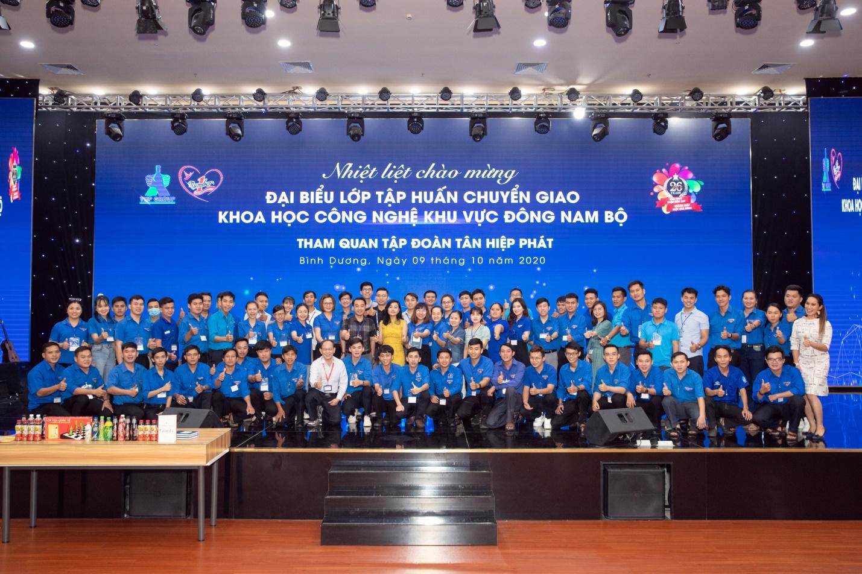 Đoàn đại biểu lớp tập huấn chuyển giao Khoa học công nghệ khu vực Đông Nam Bộ tham quan và giao lưu tại Tập đoàn Tân Hiệp Phát - Ảnh 1.