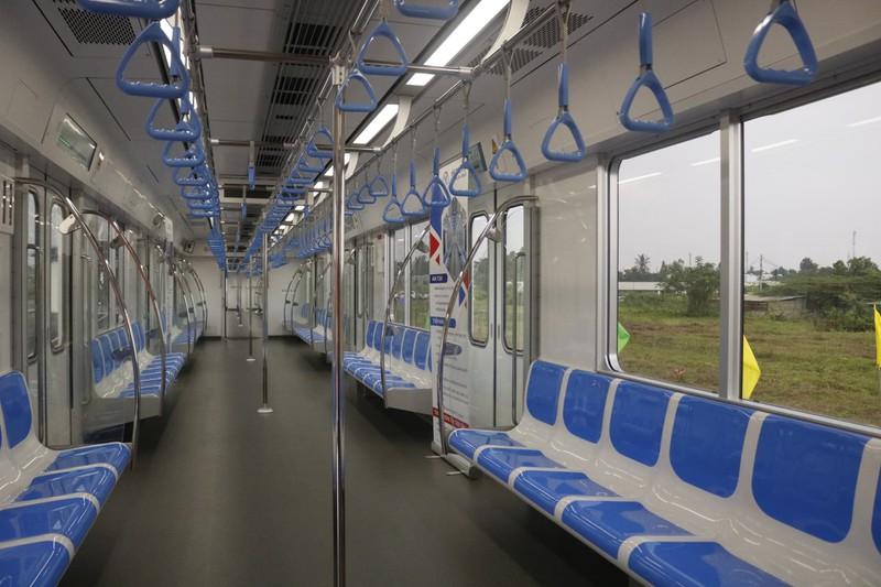Đoàn tàu đầu tiên của dự án metro số 1 Bến Thành - Suối Tiên chính thức ra mắt - Ảnh 3.