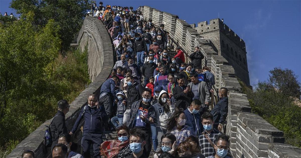 Trung Quốc chưa nên vội mừng dù chi tiêu trong Tuần lễ vàng khả quan - Ảnh 1.