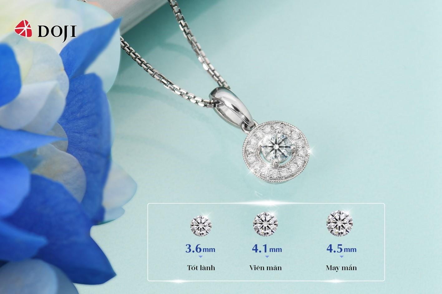 Biến 20/10 thành ngày đáng nhớ với Trang sức Kim cương DOJI - Ảnh 3.