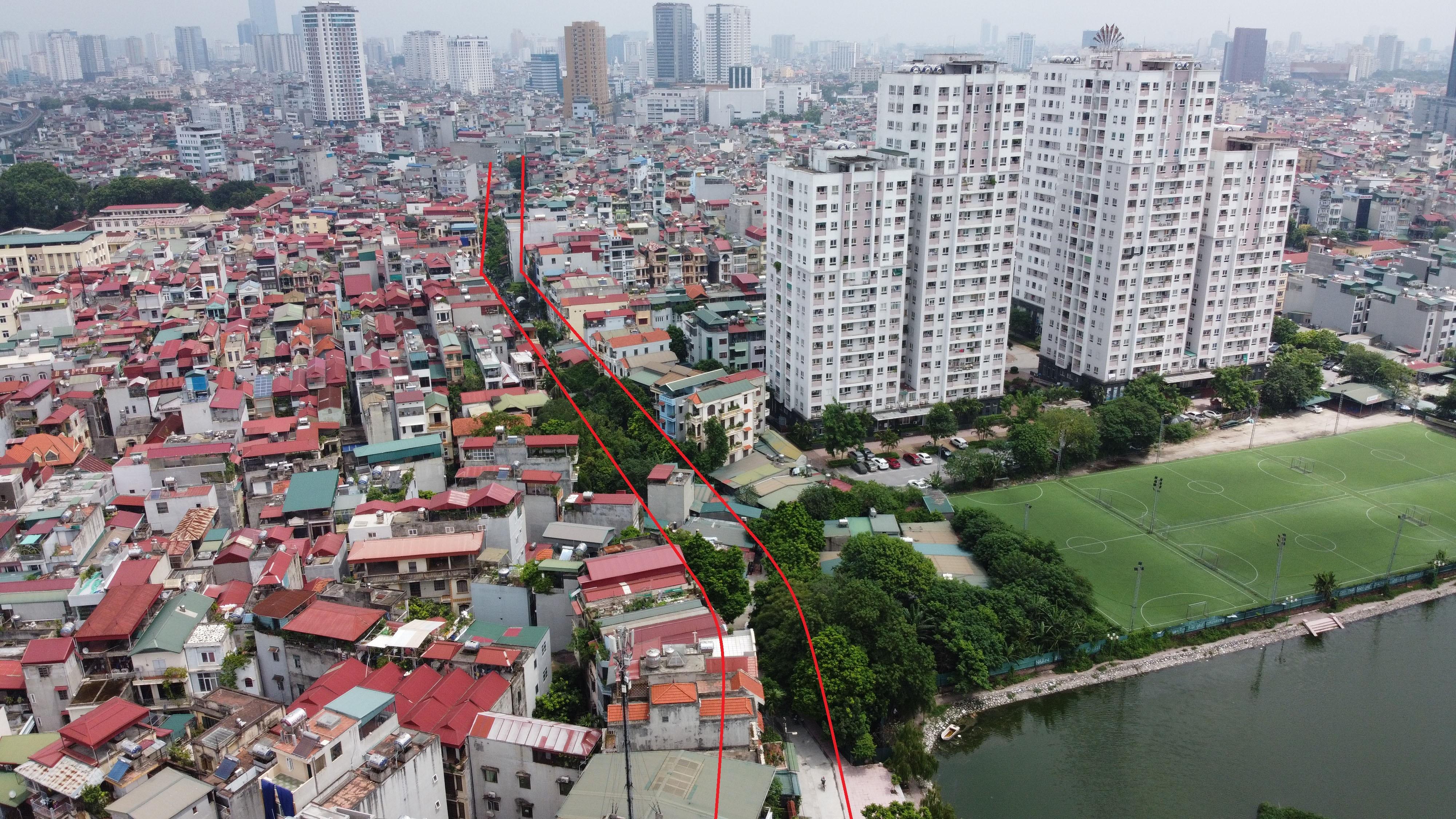Ba đường sẽ mở theo qui hoạch ở phường Khương Trung, Thanh Xuân, Hà Nội - Ảnh 11.