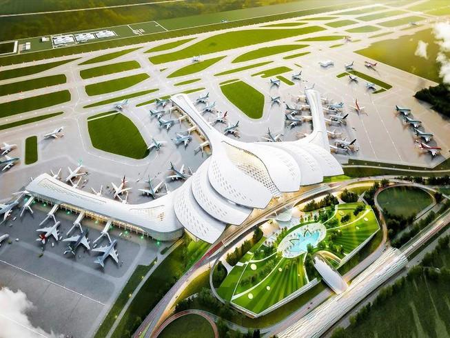 Bàn giao mặt bằng ba bên dự án sân bay Long Thành - Ảnh 1.