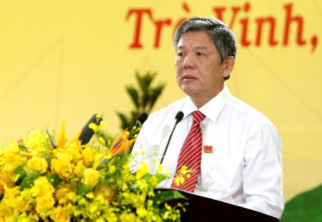 Ông Ngô Chí Cường được bầu giữ chức Bí thư Tỉnh ủy Trà Vinh - Ảnh 1.