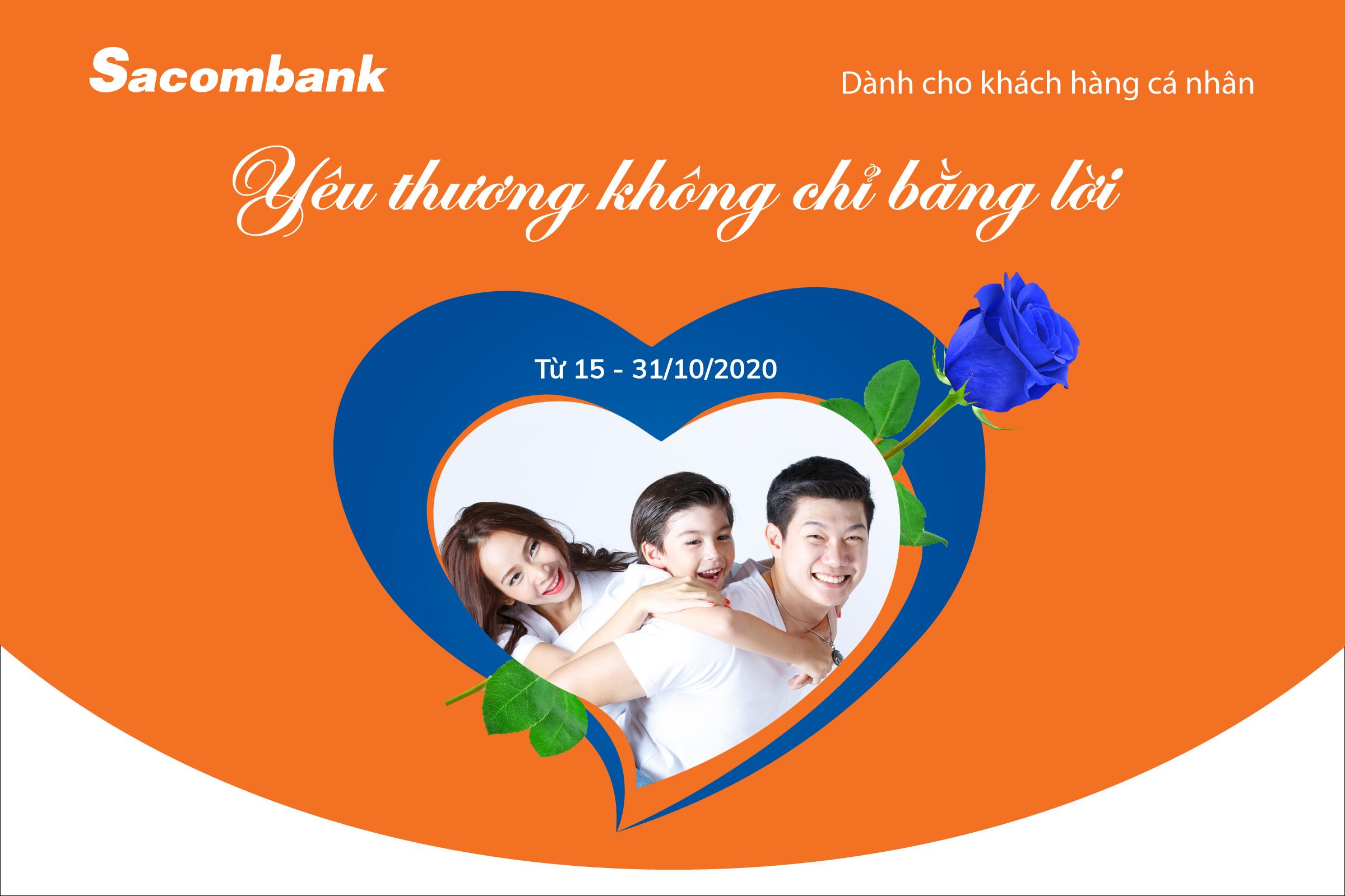 Sacombank có nhiều ưu đãi nhân ngày 20/10 - Ảnh 1.