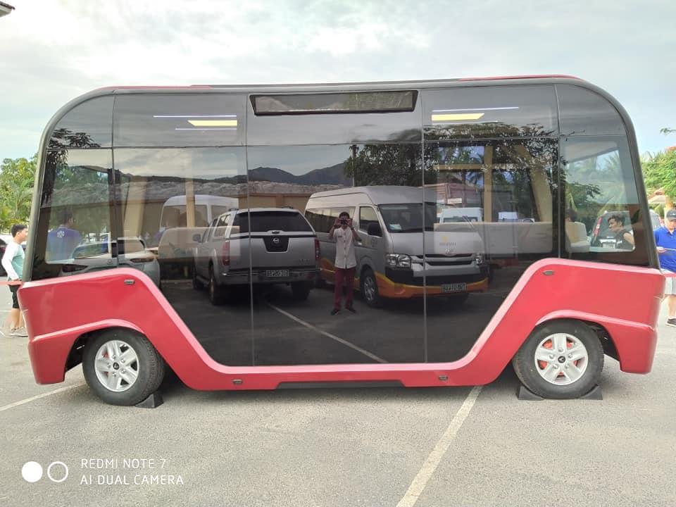 Vé xe buýt điện. (Ảnh: Thể thao 24/7)