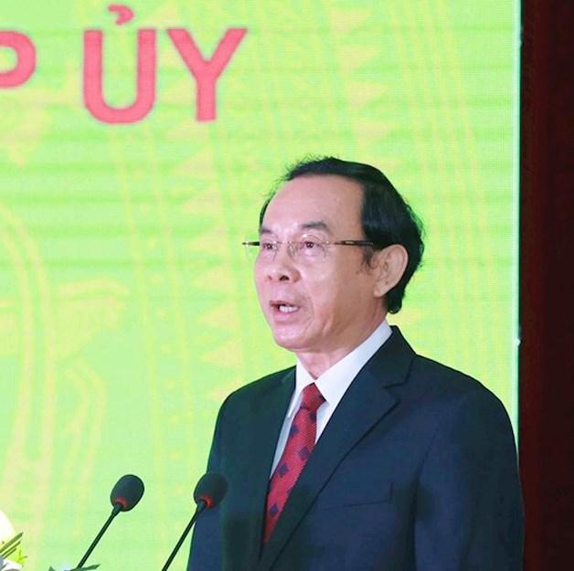 Ông Nguyễn Văn Nên được bầu giữ chức Bí thư Thành ủy TP HCM nhiệm kì 2020 – 2025 - Ảnh 1.