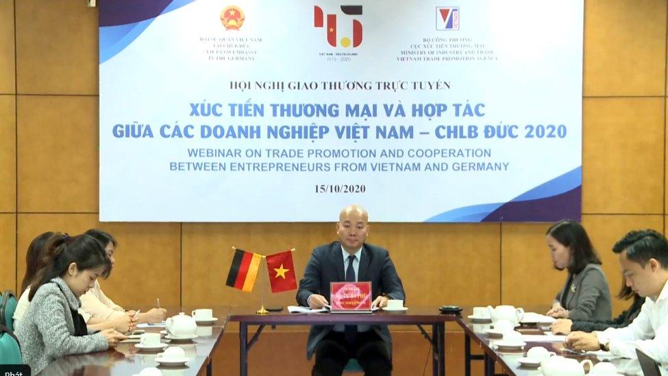 Cơ hội hợp tác thương mại, đầu tư Việt Nam - Đức rộng đường nhờ đòn bẩy EVFTA - Ảnh 1.
