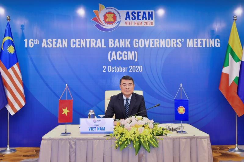 Thống đốc Lê Minh Hưng: NHNN chưa và không bao giờ sử dụng tỷ giá để tạo lợi thế cạnh tranh trong giao dịch thương mại quốc tế - Ảnh 2.