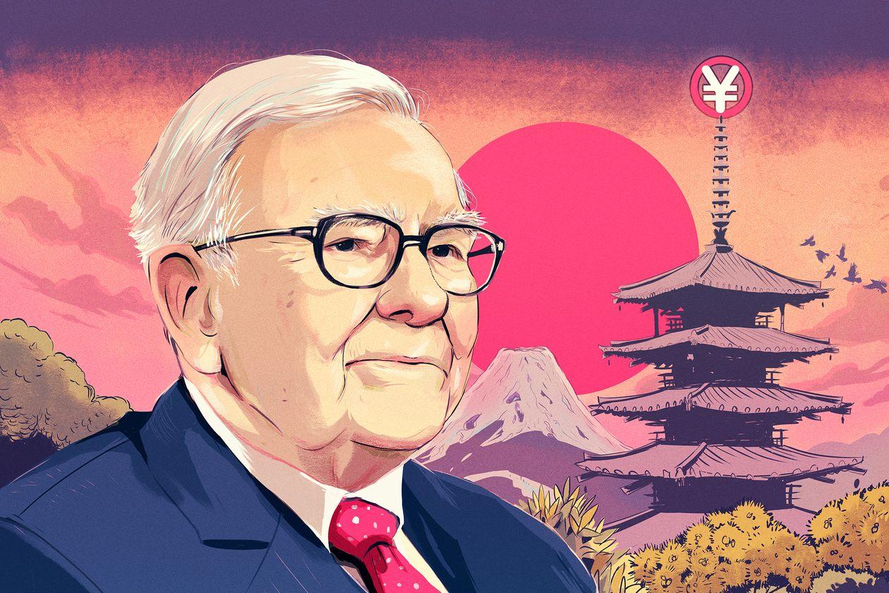 Nhà đầu tư nước ngoài theo chân Warren Buffett đổ xô tới Nhật Bản - Ảnh 1.