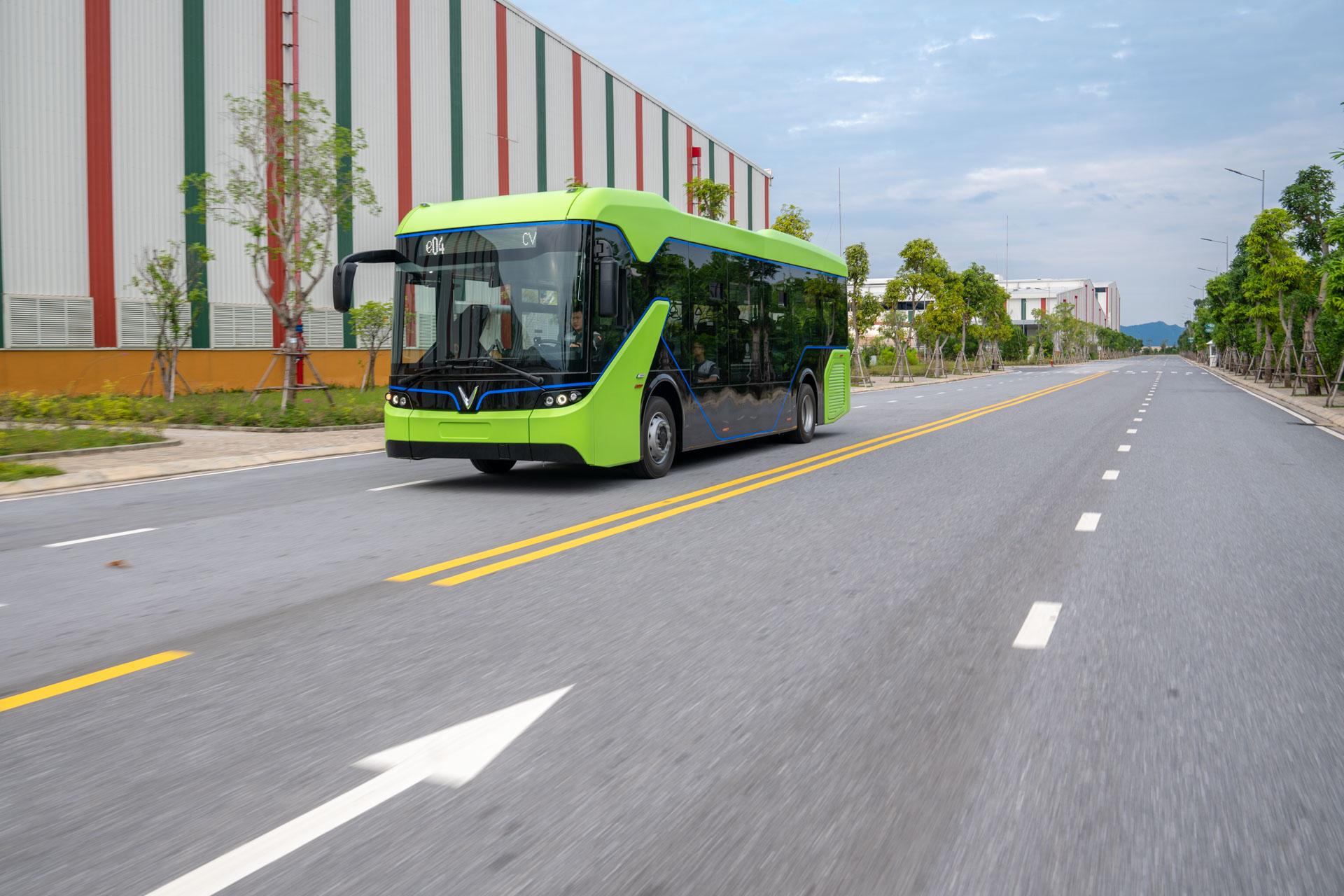 Vingroup chạy thử thành công xe bus điện đầu tiên ở Việt Nam - Ảnh 7.