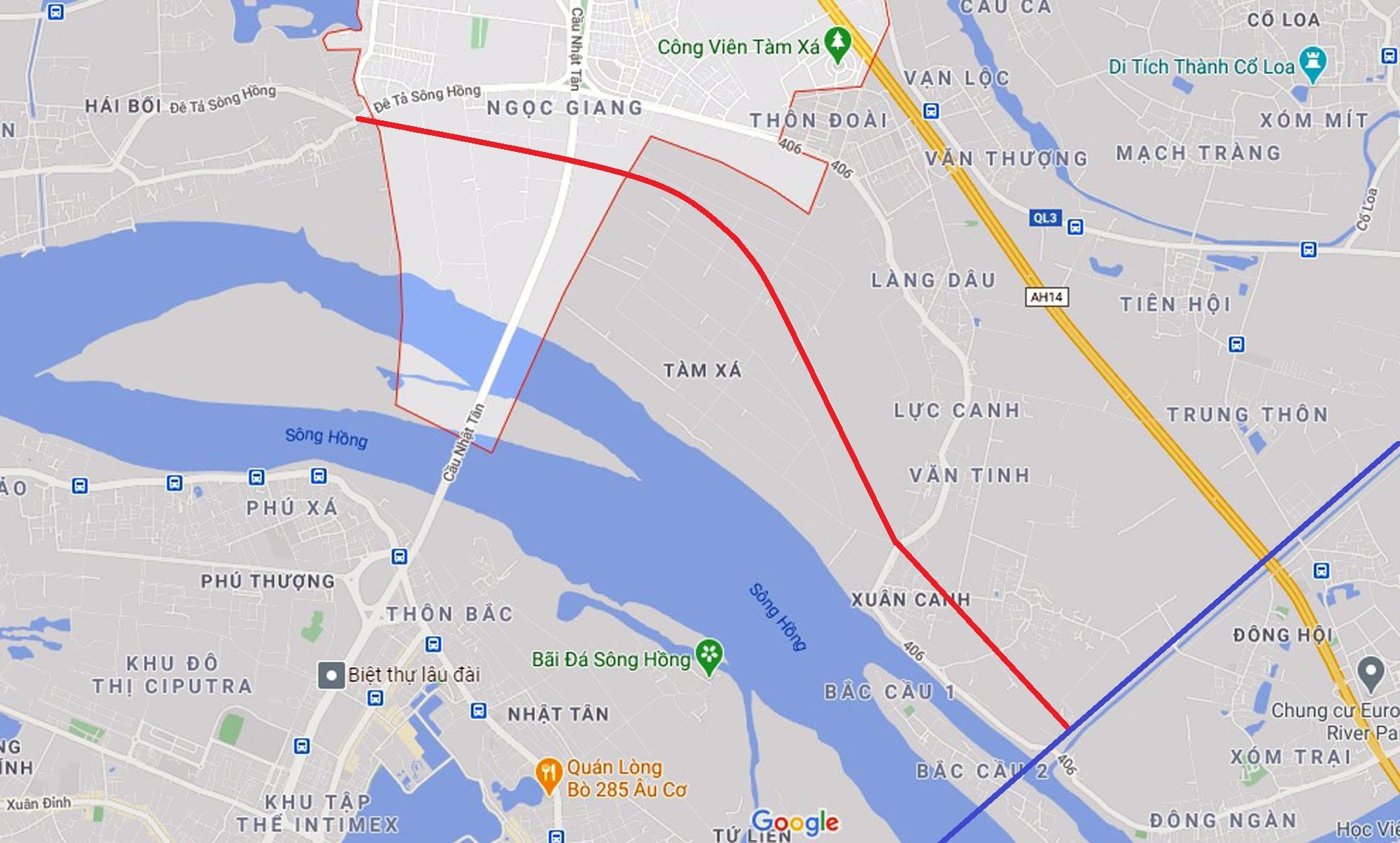4 đường sẽ mở theo qui hoạch ở xã Vĩnh Ngọc, Đông Anh, Hà Nội - Ảnh 7.