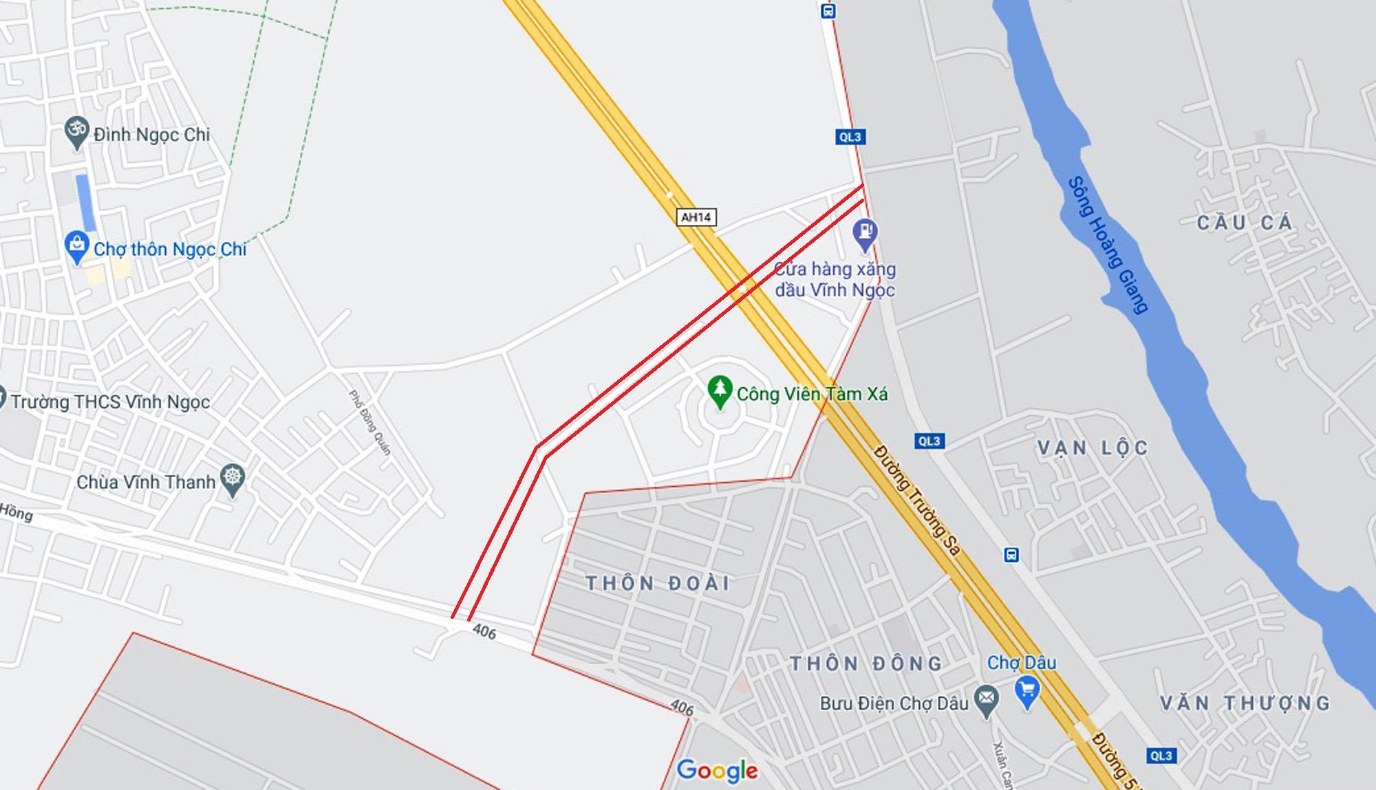 Ba đường sẽ mở theo qui hoạch ở xã Vĩnh Ngọc, Đông Anh, Hà Nội - Ảnh 10.