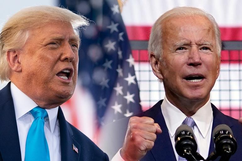 Ông Trump và ông Biden sắp đối mặt trong màn tranh luận cuối cùng - Ảnh 1.