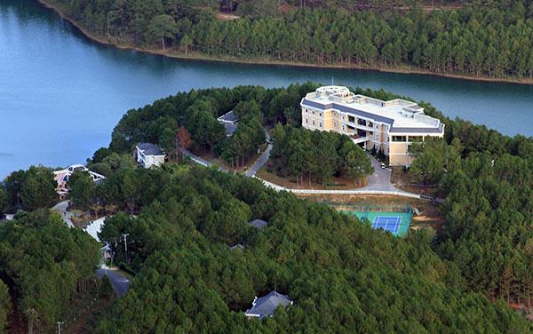 Lâm Đồng duyệt nhiệm vụ qui hoạch khu nghỉ dưỡng cạnh hồ Tuyền Lâm - Ảnh 1.