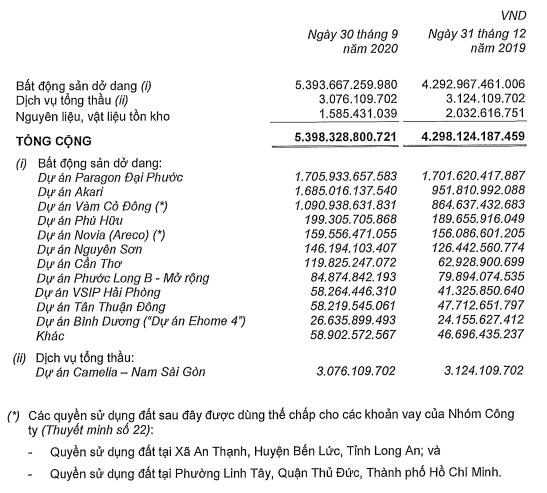 Lãi ròng Nam Long giảm mạnh trong quí III/2020 - Ảnh 3.