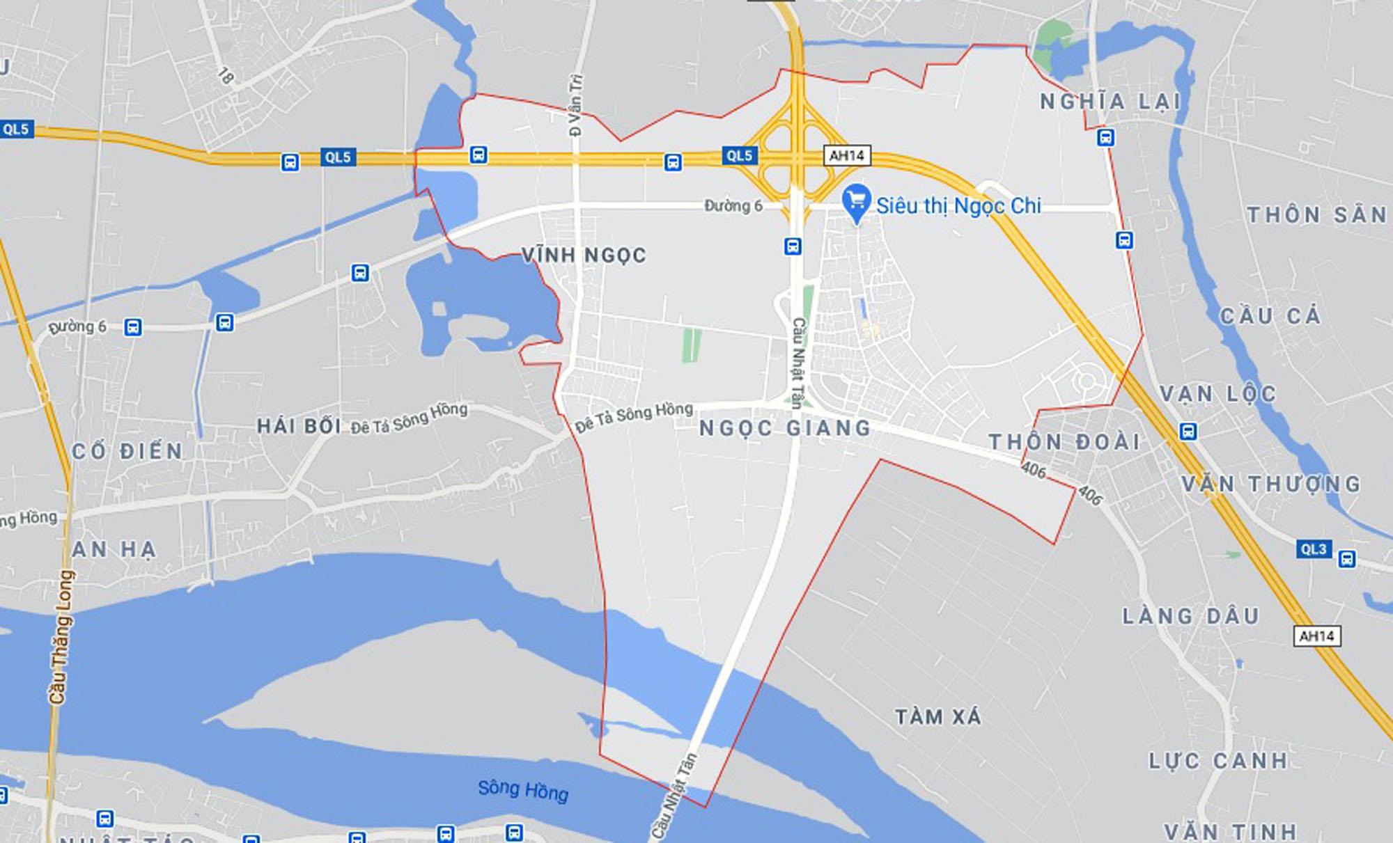 4 đường sẽ mở theo qui hoạch ở xã Vĩnh Ngọc, Đông Anh, Hà Nội - Ảnh 1.