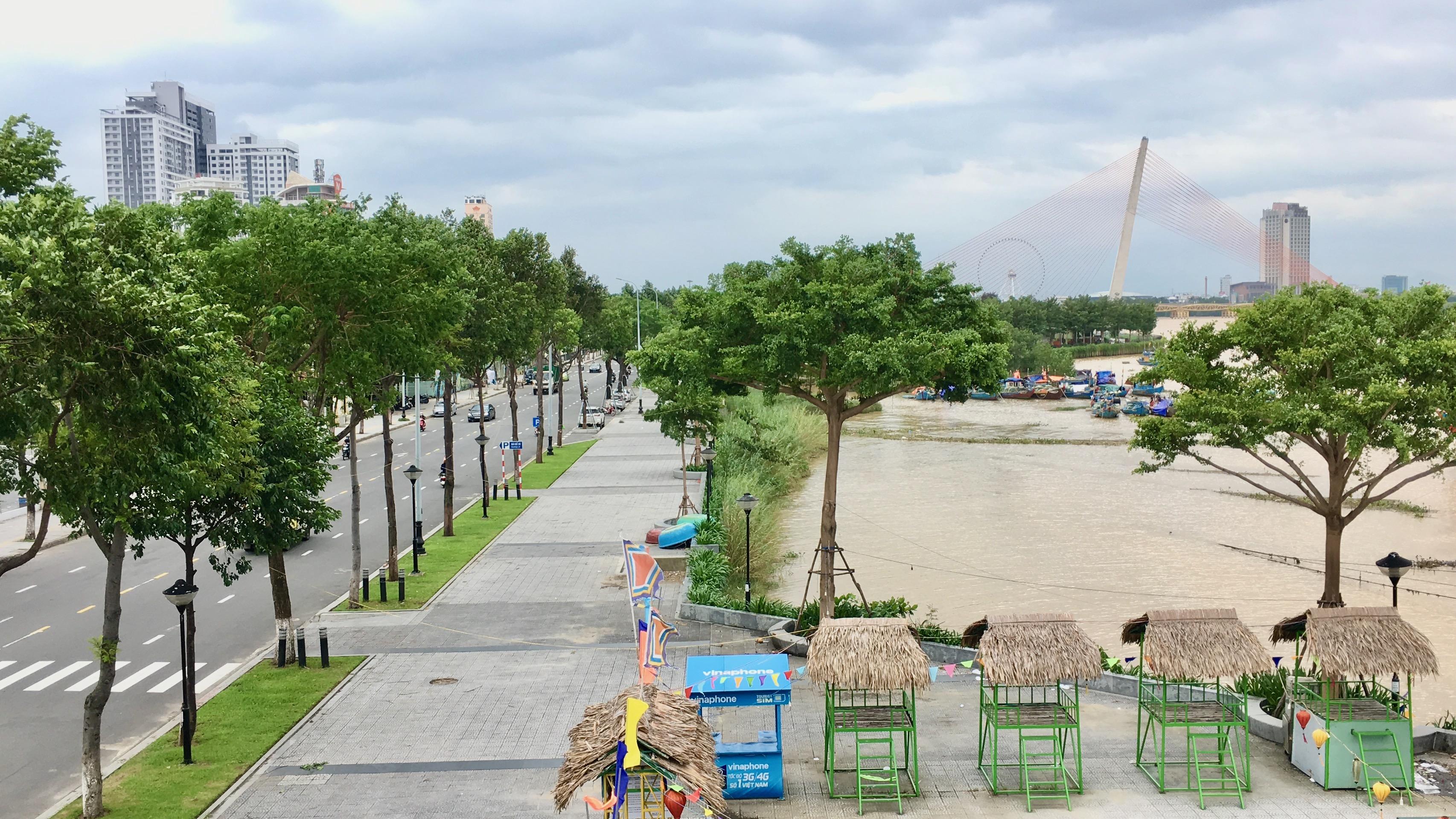 Cận cảnh khu vực ven sông Hàn Đà Nẵng làm phố đi bộ - Ảnh 12.