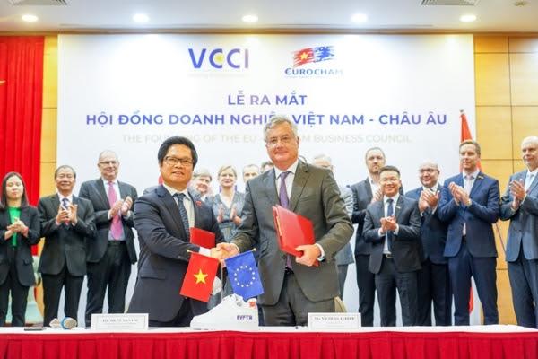 Thành lập Hội đồng Doanh nghiệp Việt Nam - châu Âu để 'lên cao tốc EVFTA' - Ảnh 1.