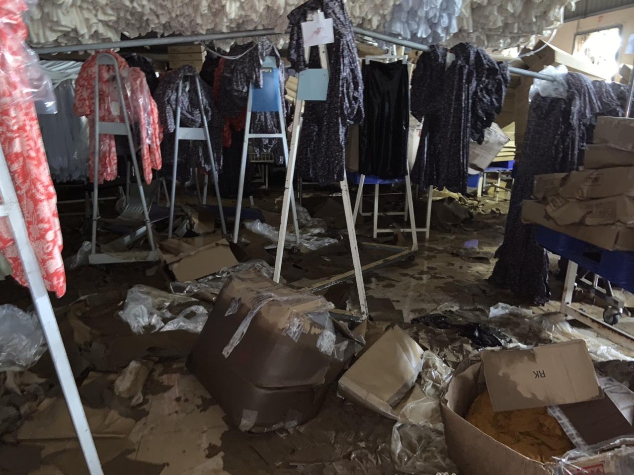 Doanh nghiệp dệt may miền Trung chịu thiệt hại nặng nề từ mưa lũ - Ảnh 3.