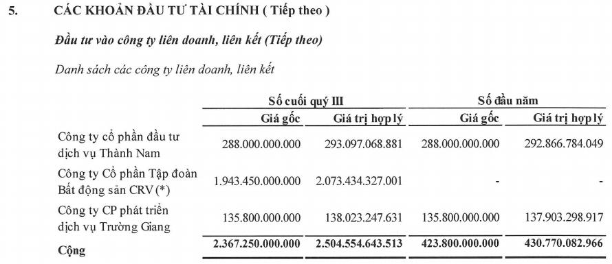 Dịch vụ Hoàng Huy (HHS) lãi 9 tháng vượt kế hoạch năm nhờ khoản lãi từ công ty liên kết - Ảnh 1.