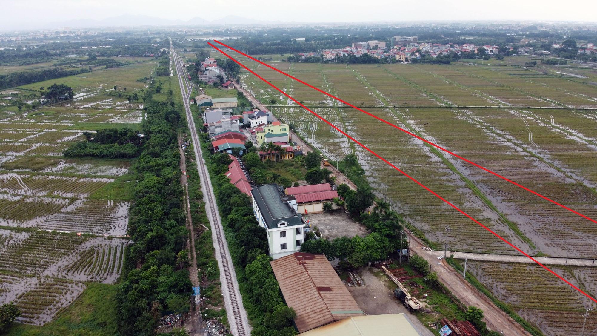 đường sẽ mở theo qui hoạch ở xã Kim Nỗ, Đông Anh, Hà Nội - Ảnh 7.