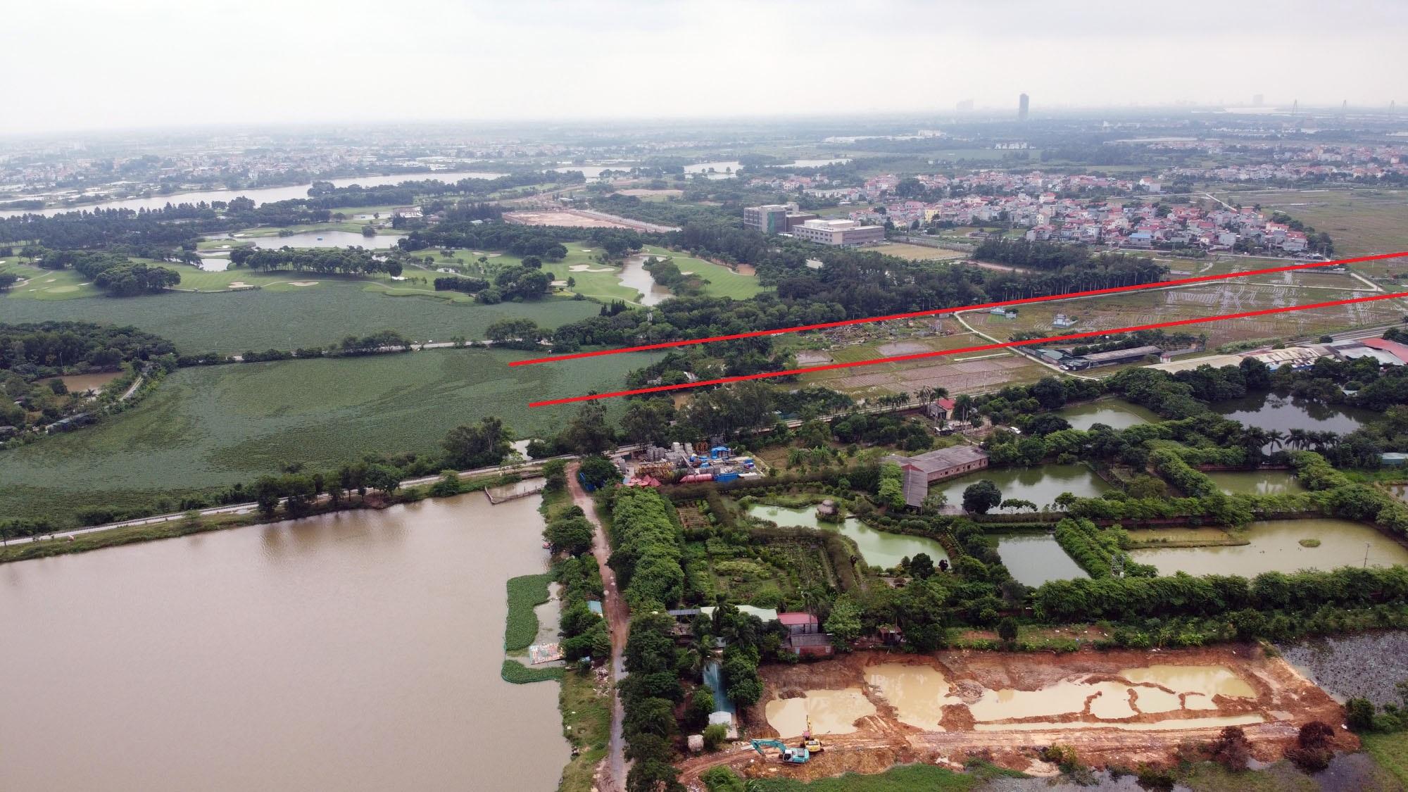 đường sẽ mở theo qui hoạch ở xã Kim Nỗ, Đông Anh, Hà Nội - Ảnh 8.