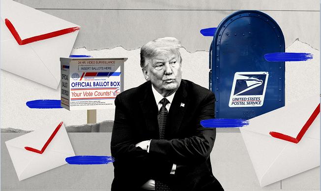 Bỏ phiếu qua thư có dẫn tới gian lận hoặc gây bất lợi cho ông Trump không? - Ảnh 1.