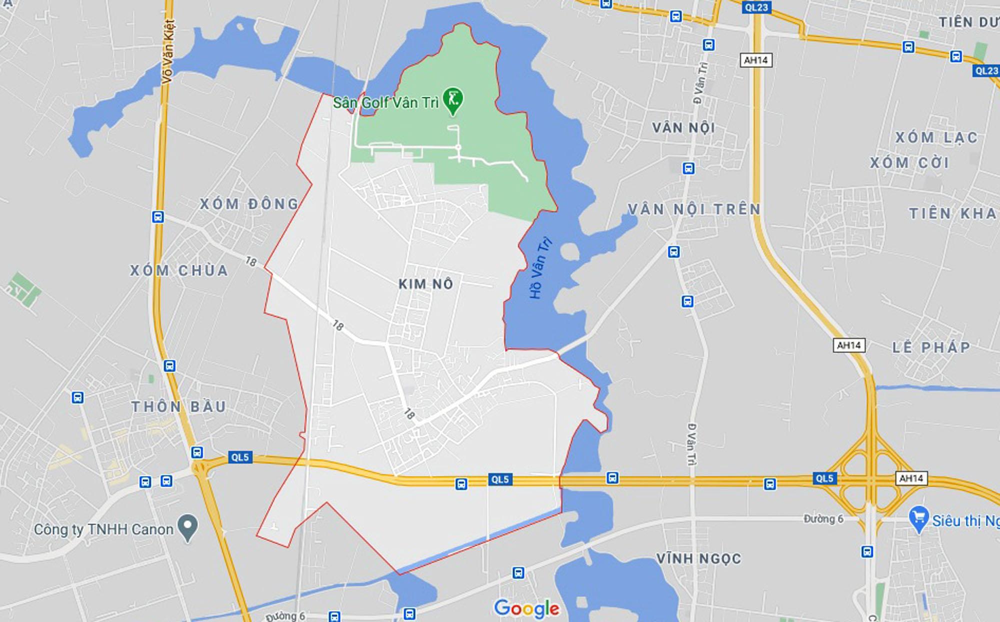 đường sẽ mở theo qui hoạch ở xã Kim Nỗ, Đông Anh, Hà Nội - Ảnh 1.