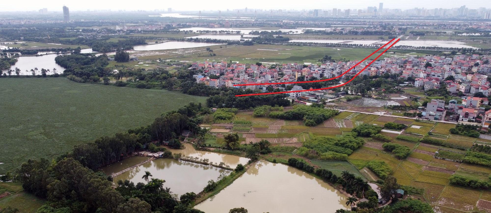 đường sẽ mở theo qui hoạch ở xã Kim Nỗ, Đông Anh, Hà Nội - Ảnh 11.