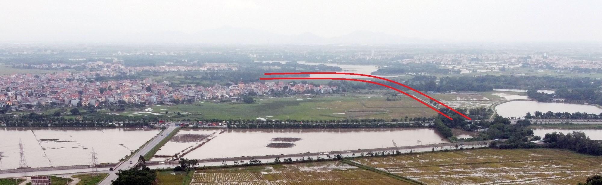 đường sẽ mở theo qui hoạch ở xã Kim Nỗ, Đông Anh, Hà Nội - Ảnh 13.