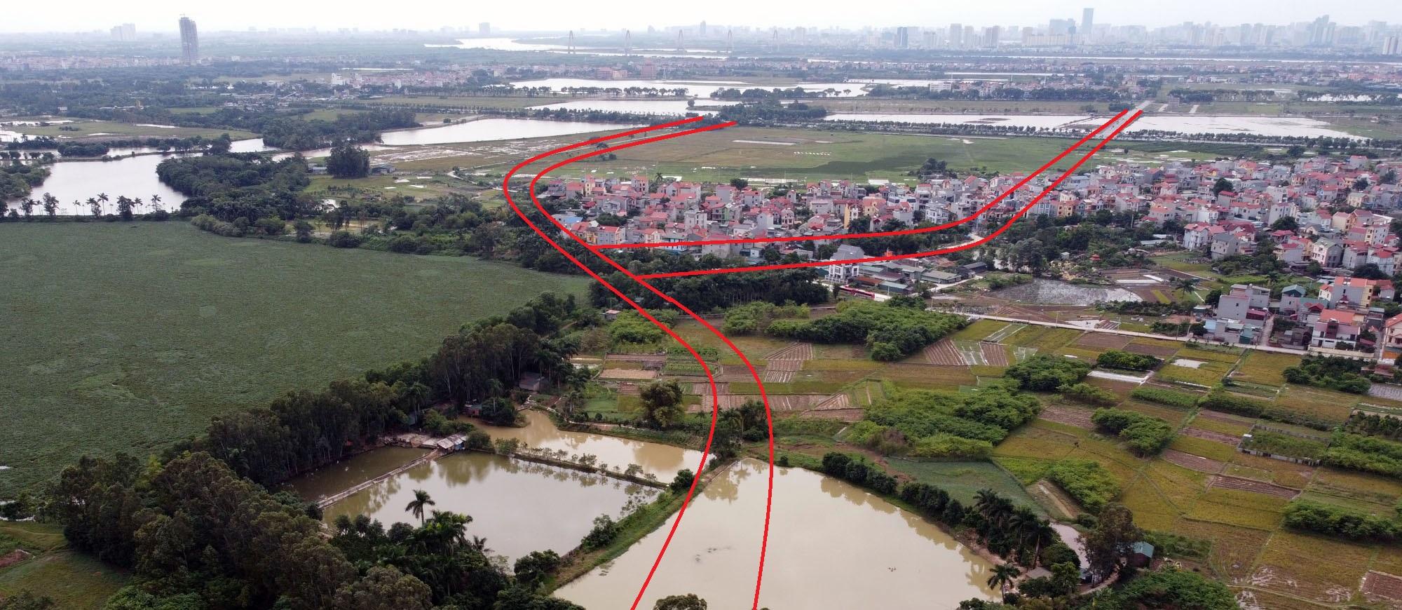 đường sẽ mở theo qui hoạch ở xã Kim Nỗ, Đông Anh, Hà Nội - Ảnh 14.