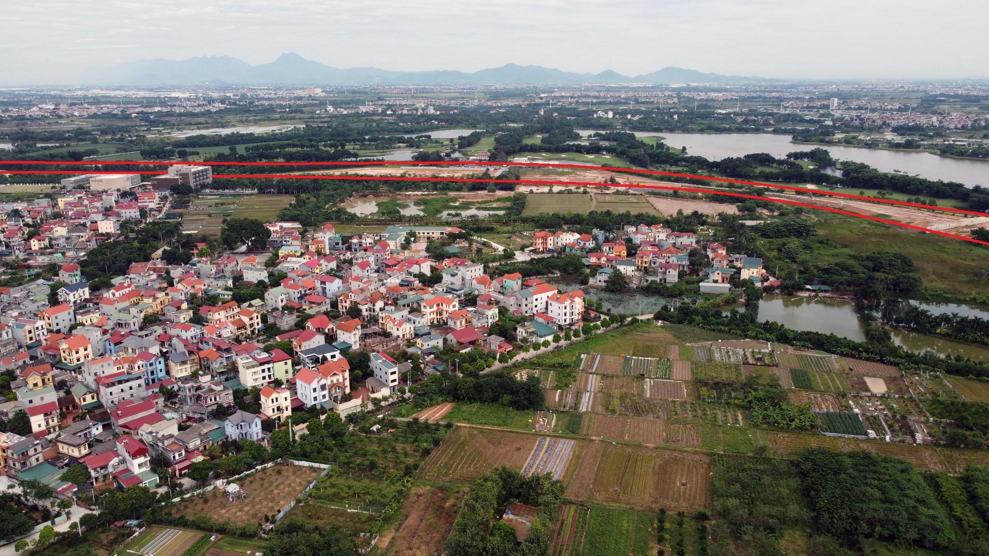 đường sẽ mở theo qui hoạch ở xã Kim Nỗ, Đông Anh, Hà Nội - Ảnh 16.