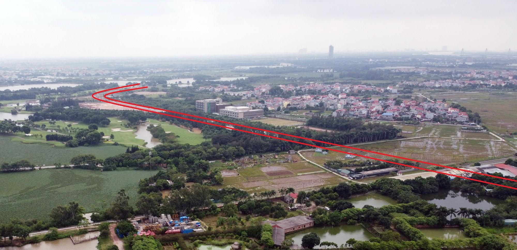 đường sẽ mở theo qui hoạch ở xã Kim Nỗ, Đông Anh, Hà Nội - Ảnh 17.