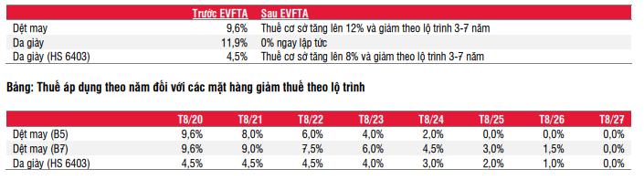 SSI Research: Mức ưu đãi thuế của EVFTA vẫn chưa đủ hấp dẫn với ngành dệt may - Ảnh 1.