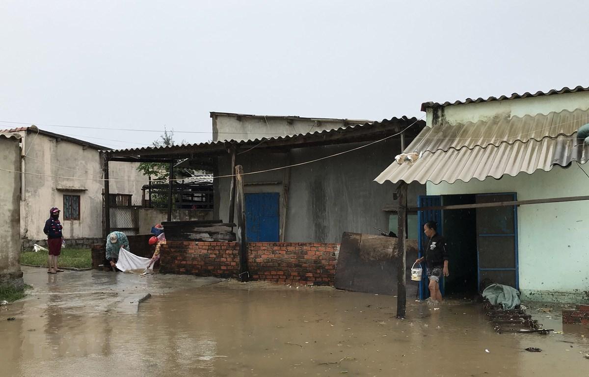 Những thiệt hại ban đầu do bão số 9 tại Phú Yên, Quảng Nam - Ảnh 1.