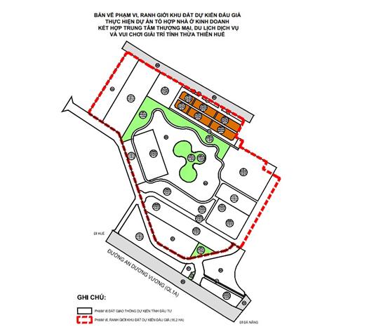 Thừa Thiên - Huế tìm chủ cho Tổ hợp nhà ở thương mại hơn 16 ha - Ảnh 1.