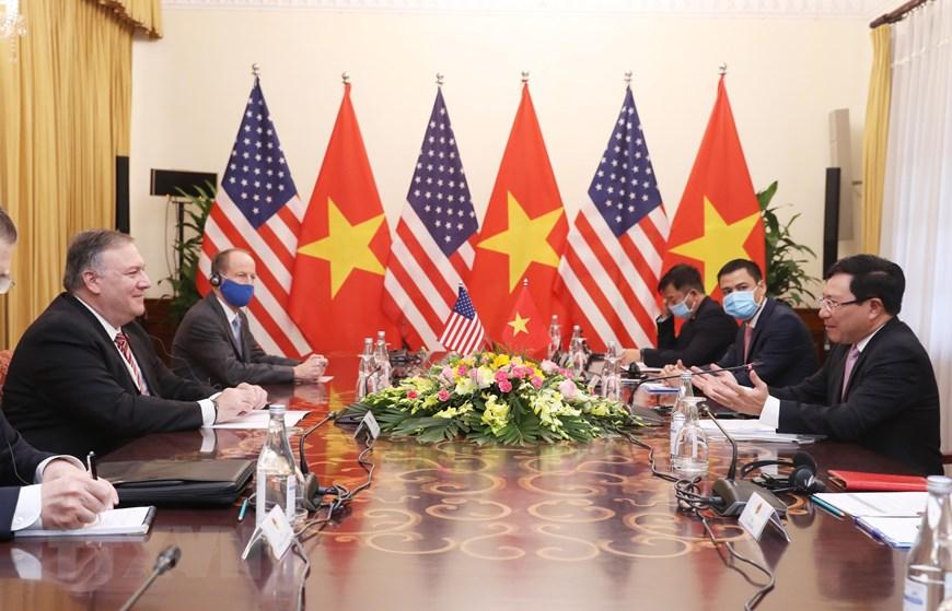 Phó Thủ tướng, Bộ trưởng Bộ Ngoại giao Phạm Bình Minh đón, hội đàm Ngoại trưởng Mỹ - Ảnh 2.