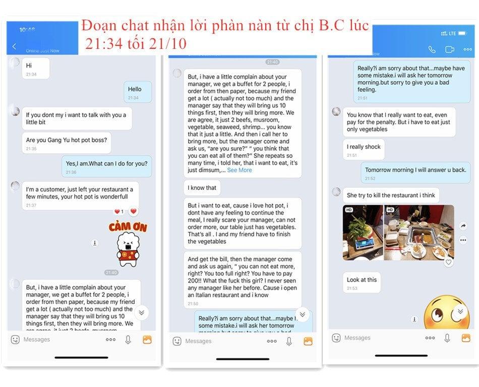 Nhà hàng ở Đà Nẵng đã lên tiếng xin lỗi sau vụ phạt khách 200.000 đồng vì đồ ăn thừa - Ảnh 2.