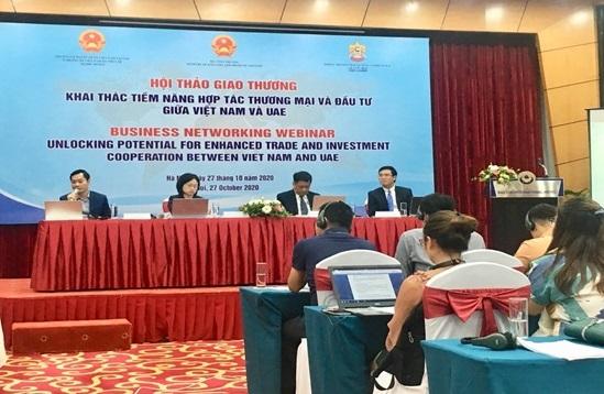 Doanh nghiệp UAE tìm cơ hội hợp tác nông, thủy sản và dệt may với Việt Nam  - Ảnh 1.