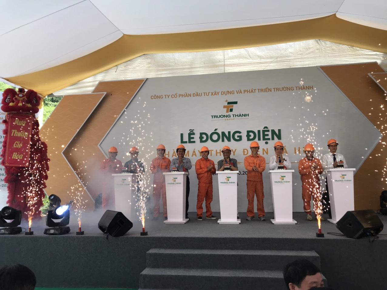 Trường Thành Group (TTA) đóng điện nhà máy thủy điện Pá Hu tại tỉnh Yên Bái - Ảnh 1.