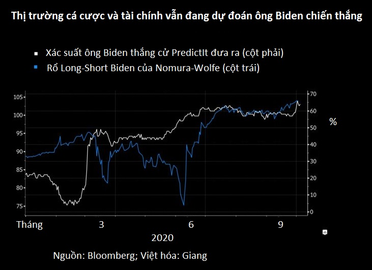 Chiến thắng áp đảo của ông Biden sẽ là tin vui cho chứng khoán Mỹ - Ảnh 3.