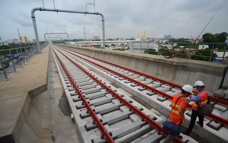 Tàu metro số 1 chính thức nhập cảng Khánh Hội - Ảnh 4.