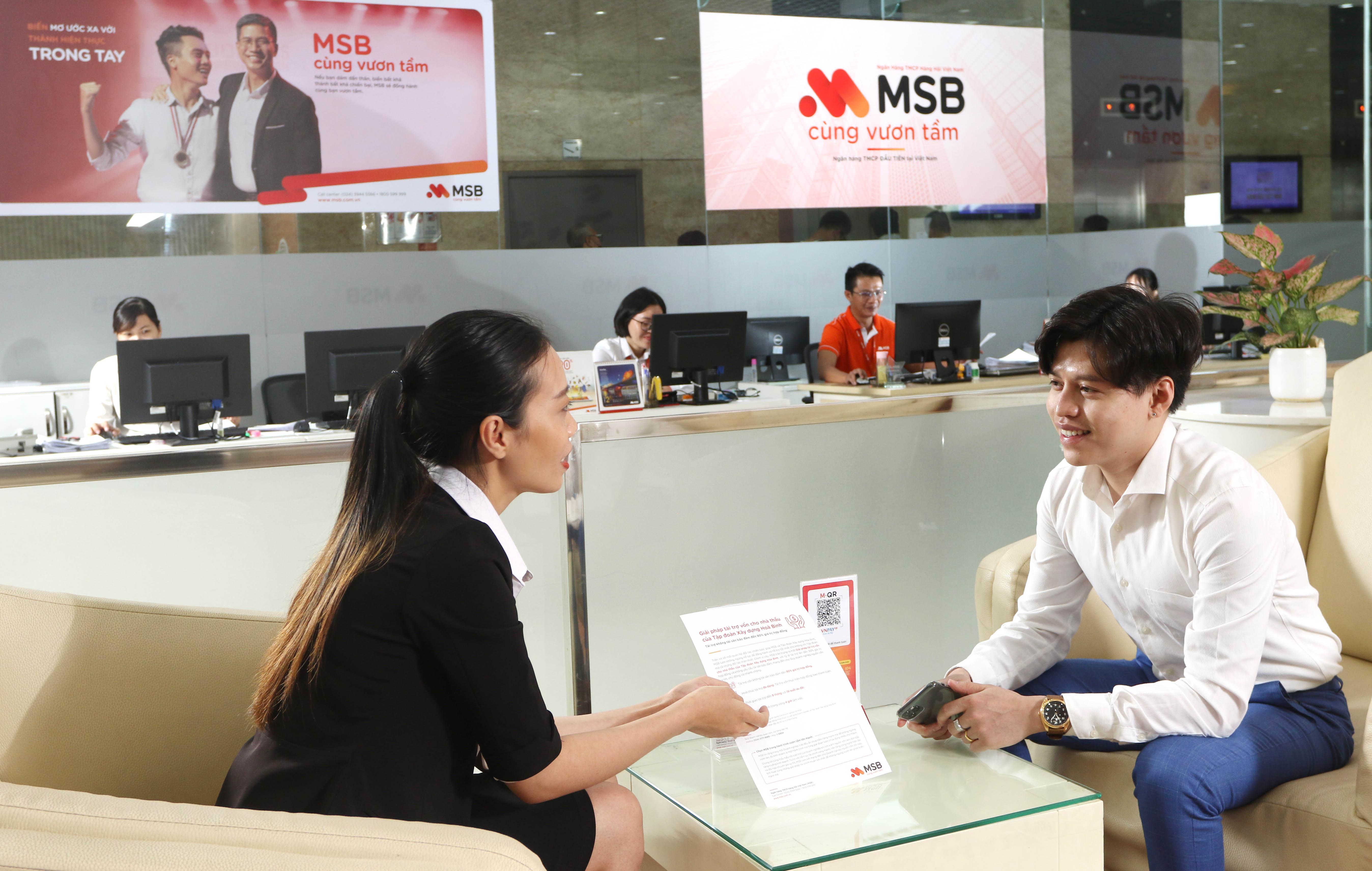 MSB vượt chỉ tiêu lợi nhuận cả năm 2020 - Ảnh 1.