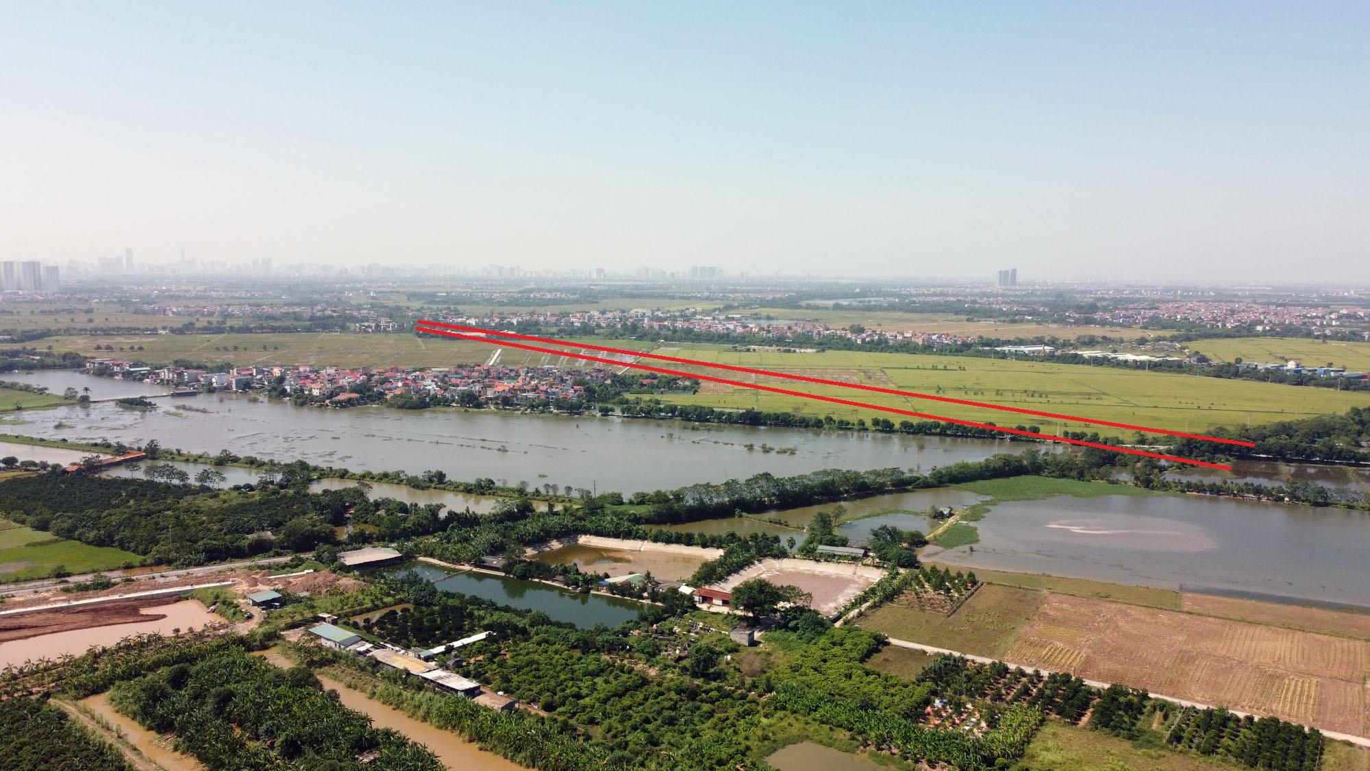 đường sẽ mở theo qui hoạch ở xã Dục Tú, Đông Anh, Hà Nội - Ảnh 5.