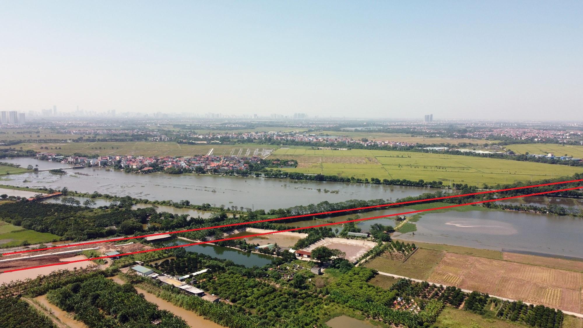 đường sẽ mở theo qui hoạch ở xã Dục Tú, Đông Anh, Hà Nội - Ảnh 10.