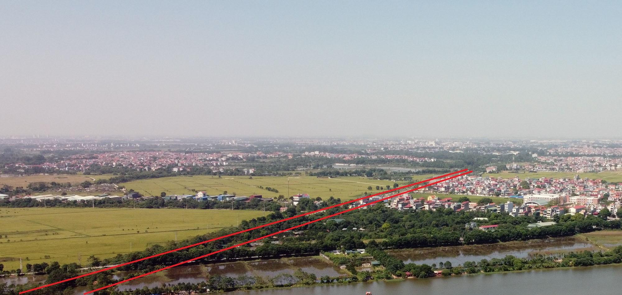 đường sẽ mở theo qui hoạch ở xã Dục Tú, Đông Anh, Hà Nội - Ảnh 11.