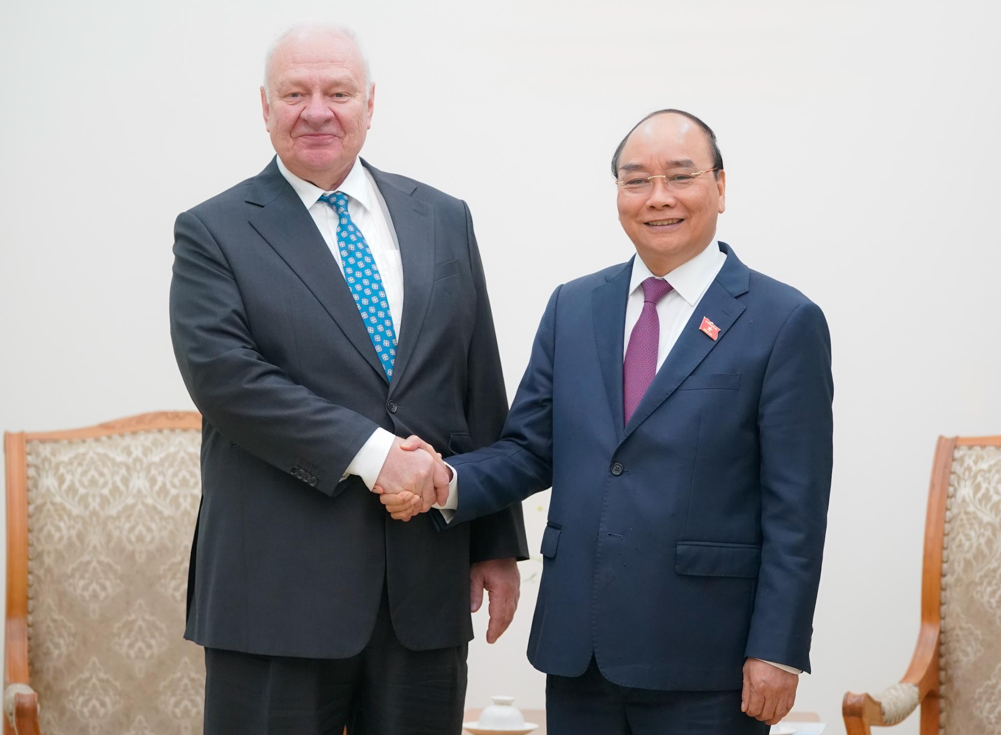 Thủ tướng: Đưa kim ngạch thương mại Việt - Nga sớm đạt 10 tỉ USD  - Ảnh 1.